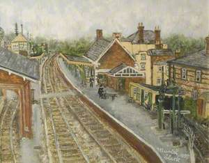 Blandford Station, Dorset