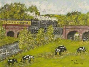 Blandford Railway Viaduct, Dorset