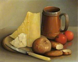 Cheese and Beer Mug