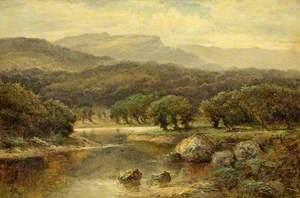 Derwentwater from Friar's Crag, Cumbria