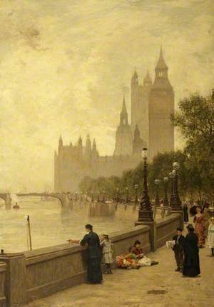 The Thames Embankment, London