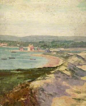 Mudeford from Hengistbury Head, Dorset
