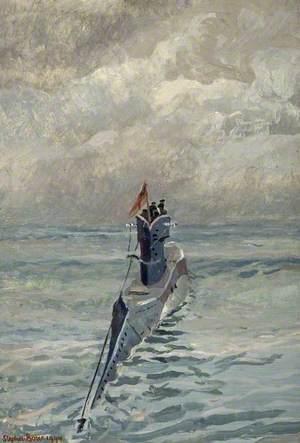 'H' Class Submarine at Sea