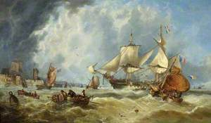 Scene in the English Channel