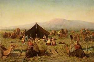 Persian Encampment