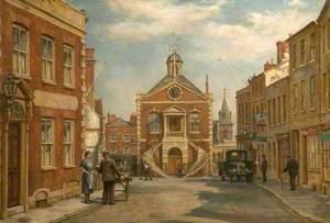 Market Street in Poole, Dorset