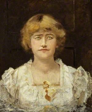 A Sketch of Ellen Terry (1847–1928), at Halliford