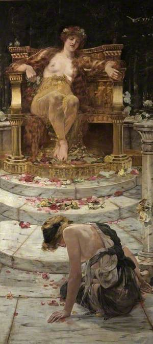 Psyche at the Throne of Venus