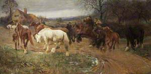 Gypsy Horse Drovers