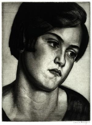 Head of a Girl No. 2 (A Cornish Girl)