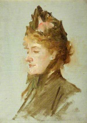 Miss Ellen Terry, Study for 'The Golden Jubilee Picture'