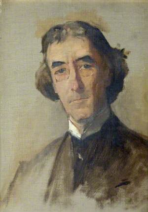 Sir Henry Irving, Study for 'The Golden Jubilee Picture'