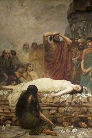 Jephthah's Vow: The Martyr
