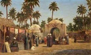 Bazaar, Assouan, Egypt
