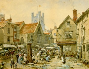 'The Bell Inn', Market Place, Ely