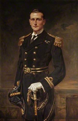 Lieutenant Edward Newdigate Boulton (1895–1963), RN