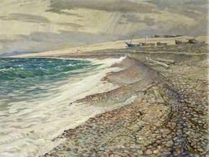 Chesil Beach, Dorset, Winter