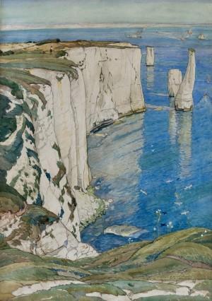 Chalk Cliffs near Swanage