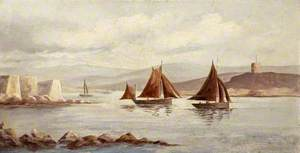 Fishing Boats in an Estuary