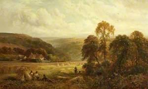 Harvest Scene in Surrey