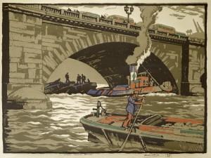 Under London Bridge