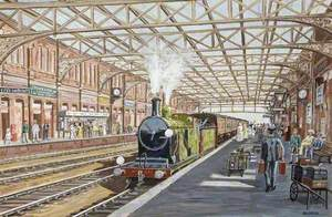 Bournemouth Central Station, c.1906