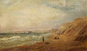 Bournemouth Beach towards the Pier