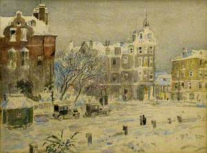 The Lansdowne under Snow in Earlier Years