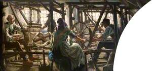 A Weaving Shop