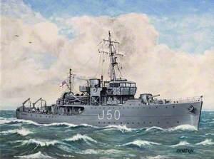 HMS 'Bridport'