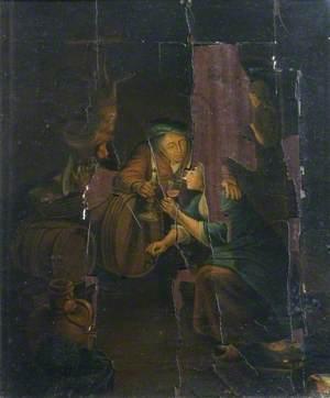 Candlelit Cellar