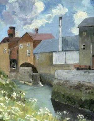 Palmer's Brewery and Riverbank, Bridport, Dorset