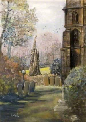 Quiet Corner, Church at Loder, Dorset
