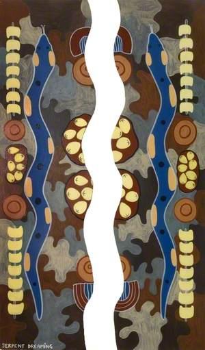 'Dreams of Australia' Series, Serpent Dreaming