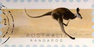 'Dreams of Australia' Series, Kangaroo
