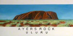 'Dreams of Australia' Series, Ayers Rock