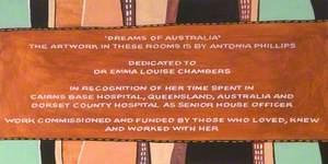 'Dreams of Australia' Series, Dedication