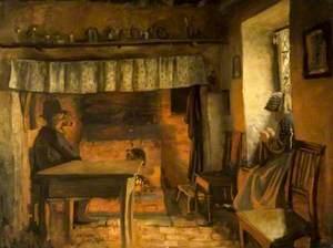 Cottage Interior, Cerne Abbas, Dorset
