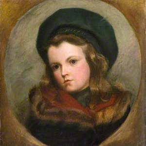 Portrait of a Young Girl in a Beret