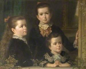 Blanch Annunziata (b.1873), Gwendolen Mary and Hugh Edmund Chafey (b.1876), in Florence, Italy
