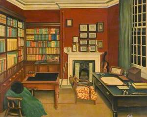 Thomas Hardy's Study, Max Gate