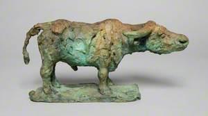 Small Standing Buffalo