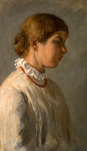 Philippa Powys (1883–1963), as a Young Girl