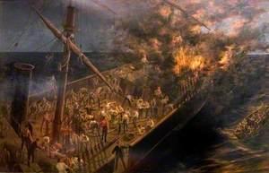Fire Aboard the 'Sarah Sands', 11 November 1857