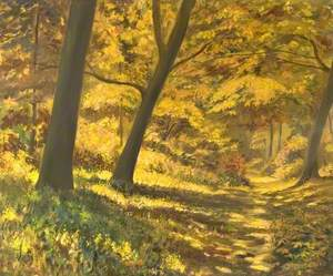 The Path in Autumn, Friday Woods