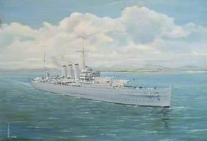 HMS 'Dorsetshire'