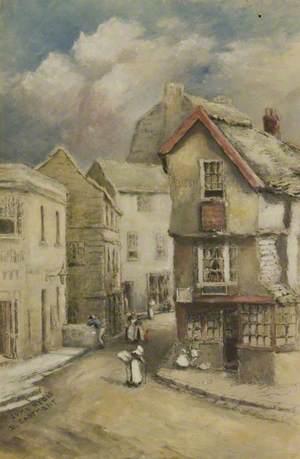 The Old Fossil Shop, Lyme Regis, Dorset