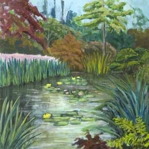 The Lily Pond, The Priory, Wareham, Dorset