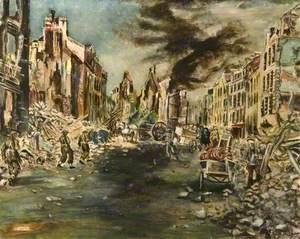 Caen, France, June 1944