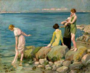 Four Women Bathers at Studland, Dorset